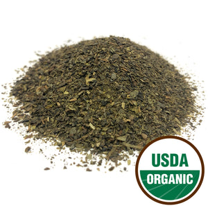 Organic Green Tea Leaf Cut