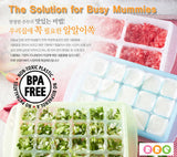 "RRE ""Freeze and pop"" Freezing Tray (XL 150g Green)"