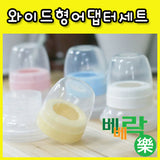 BebeLock Milk Bottle Adaptor