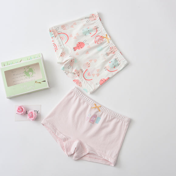 2-pack boxer shorts (Girls) Bunny Ice