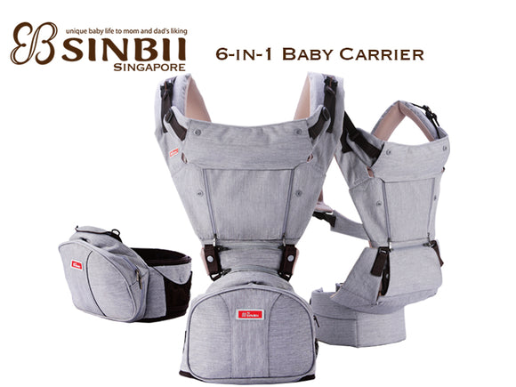 SINBII 6-in-1 Baby Carrier (Full Set)