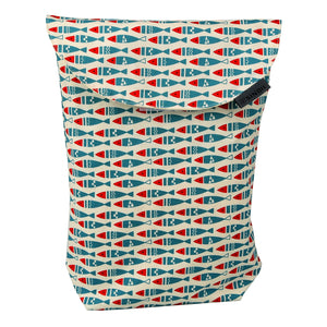 Diaper pouch (Fish - Long)