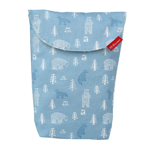 Diaper pouch (Forest Blue- Long)