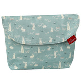Diaper pouch (Bunny Mint - Wide)