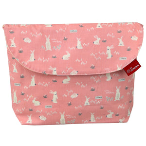 Diaper pouch (Bunny Pink - Wide)