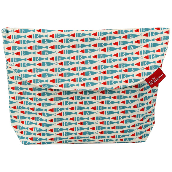 Diaper pouch (Fish - Wide)