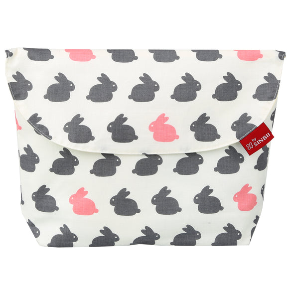 Diaper pouch (Rabbit - Wide)