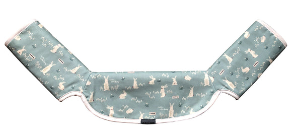 One-piece Drool Pad (Mint Rabbit)