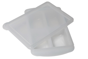 "RRE ""Freeze and pop"" Freezing Tray (XL 150g White)"