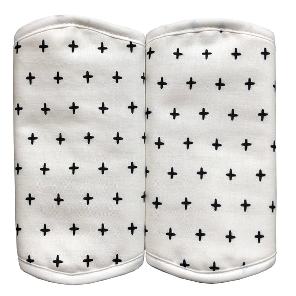 Strap Drool Pads (Cross)