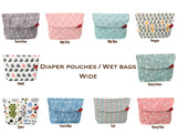 Diaper pouch (Forest Grey - Wide)