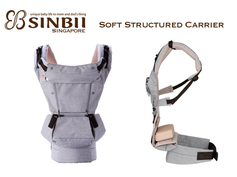 Sinbii Soft Structured Ergo Carrier My Summer Baby Singapore