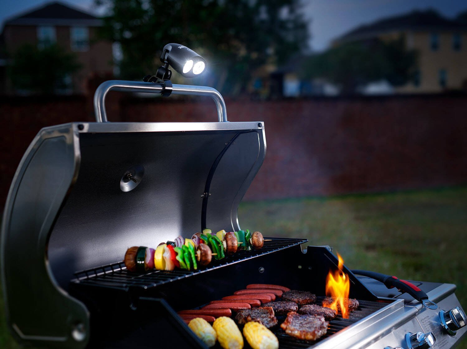 1 barbecue grill light with 10 super bright led lights durable 1 barbecue grill light with 10 super bright led lights durable weather resistant aloadofball Gallery