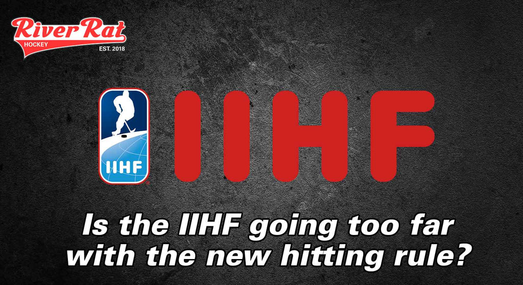 Is the IIHF going too far with the new hitting rule?