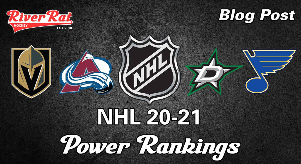 NHL Power Rankings: 20-21 Start of the Season