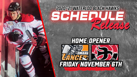 Waterloo Blackhawks Home Opener Schedule