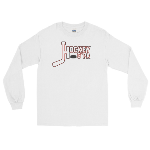 Hockey Grandpa Long Sleeve T-Shirt