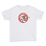 Jeff the River Rat Hockey Youth Short Sleeve T-Shirt
