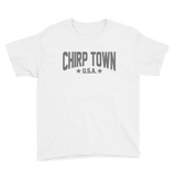 Chirp Town Hockey Youth Short Sleeve T-Shirt