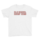 Old School Chirp King Hockey Youth Short Sleeve T-Shirt