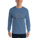 State of Iowa Hockey Long Sleeve T-Shirt
