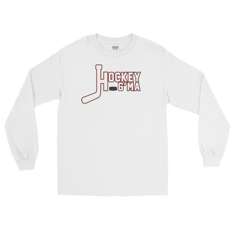 Hockey Grandma Long Sleeve T-Shirt