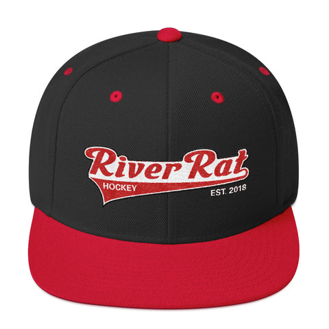 River Rat Hockey Snapback Hat