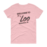 Welcome to the Loo Hockey Women's t-shirt