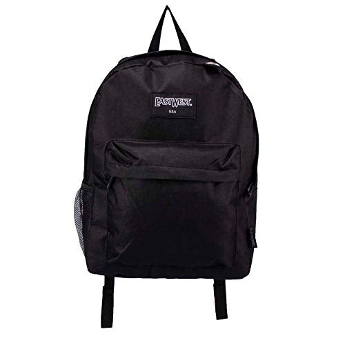 "17"" Black Backpack with 48 Piece School Supply Kit - School Supply Bundle Pack for Boys and Girls"