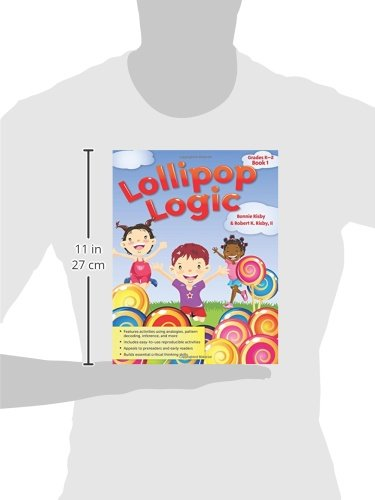 Lollipop Logic: Grades K-2, Book 1