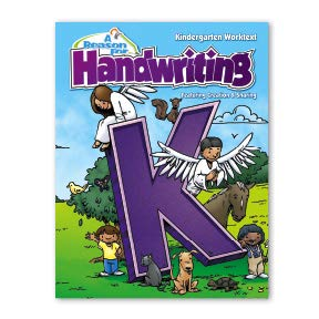 Handwriting Writing Workbook Level K