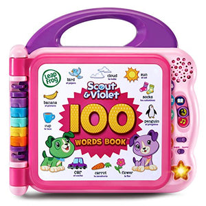LeapFrog Scout and Violet 100 Words Book (Purple)
