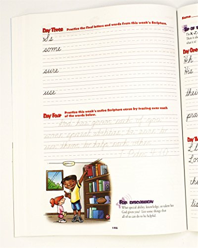 Cursive Handwriting Workbook Grade 3