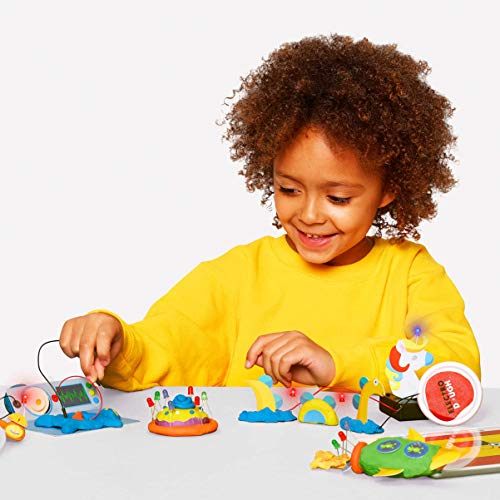 Tech Will Save Us Electro Dough Project Kit | Educational Electronic Science Technology STEM Toy, Gift for Boys, Girls, Kids Ages 4 and up