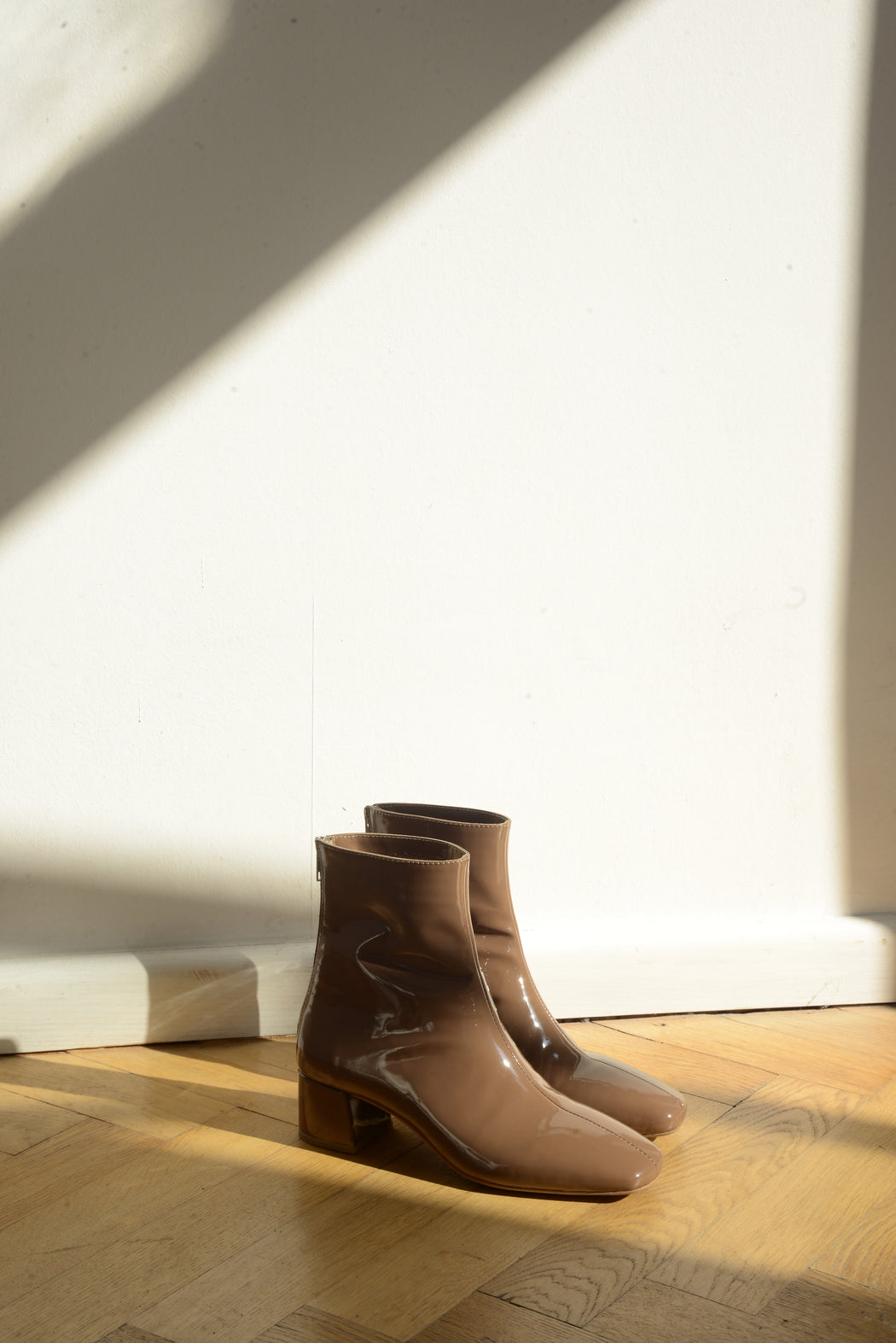 Eva II Boots | Patent Brown