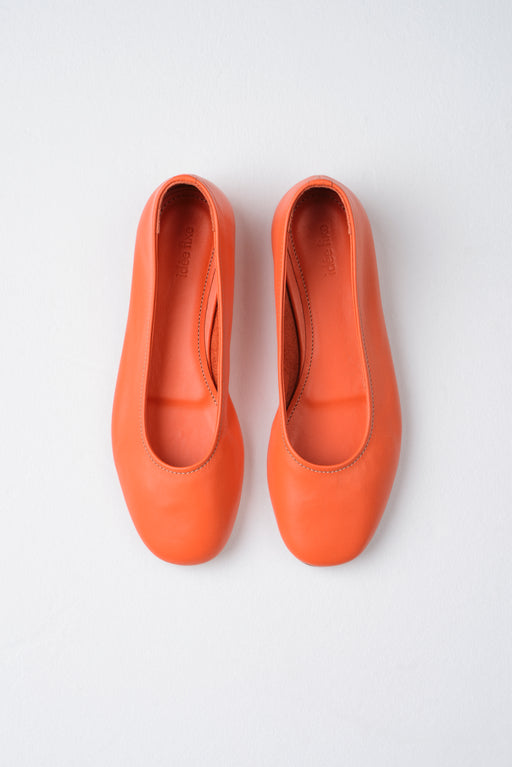 Margot Flats | Red Orange
