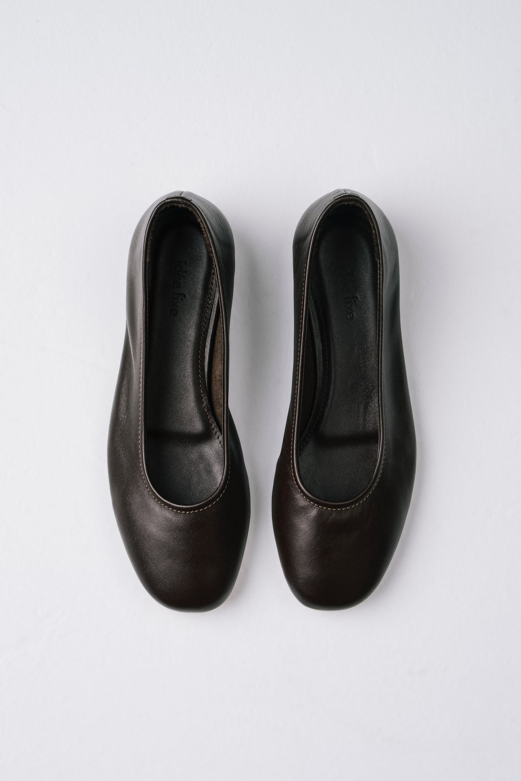 Margot Flats | Dark Choc