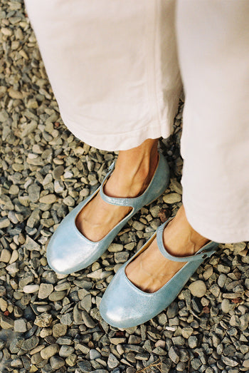 Mary Janes | Brilliant Blue