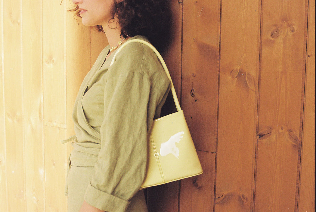 Mila Bag | Patent yellow