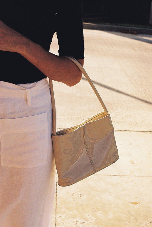 Mila Bag | Patent Cream
