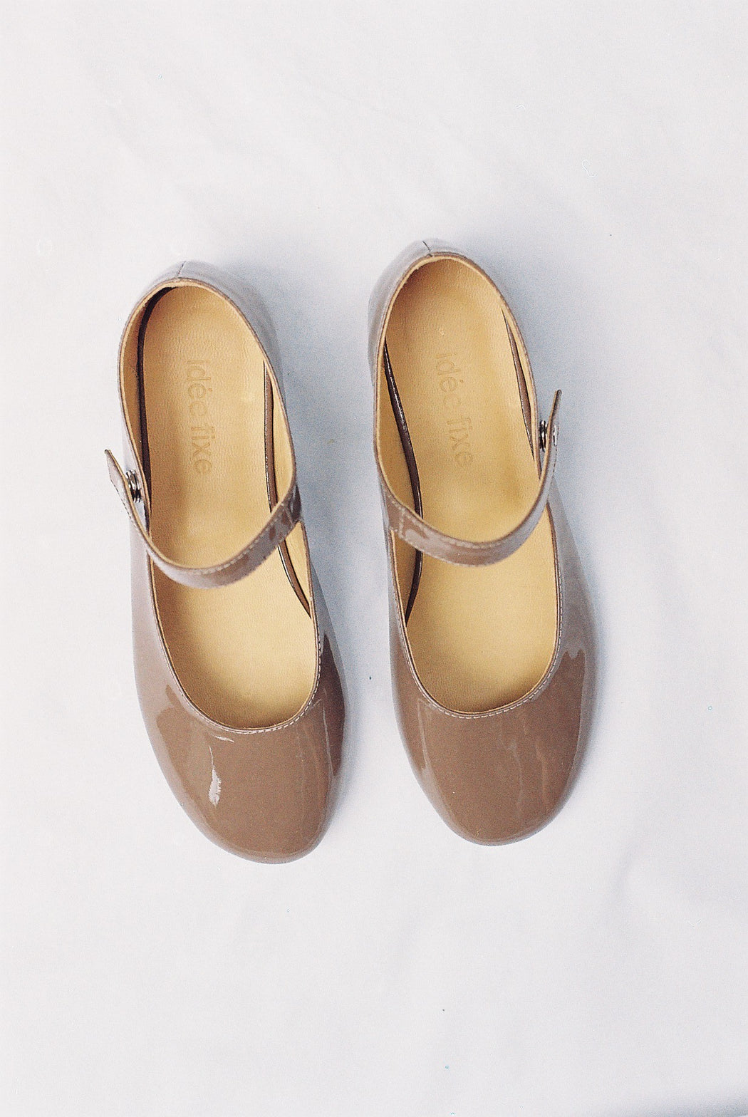 Mary Janes | Patent Brown