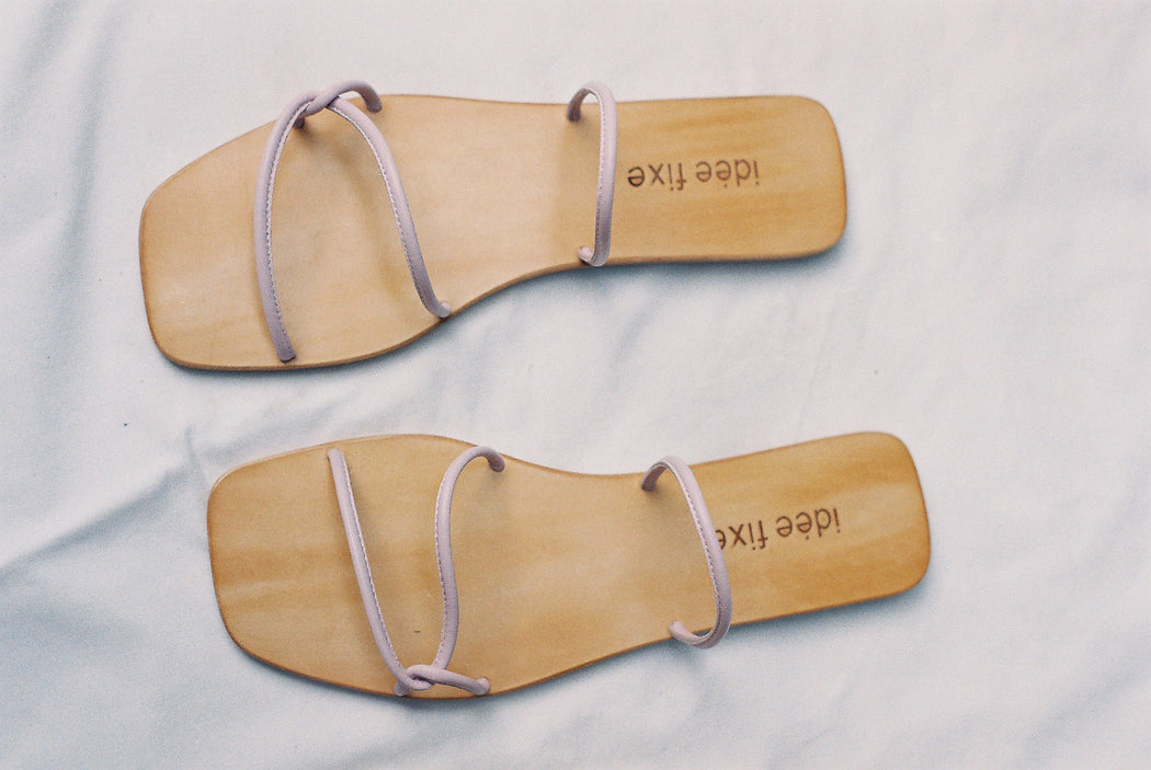 Morocco Sandals | Soft lilac
