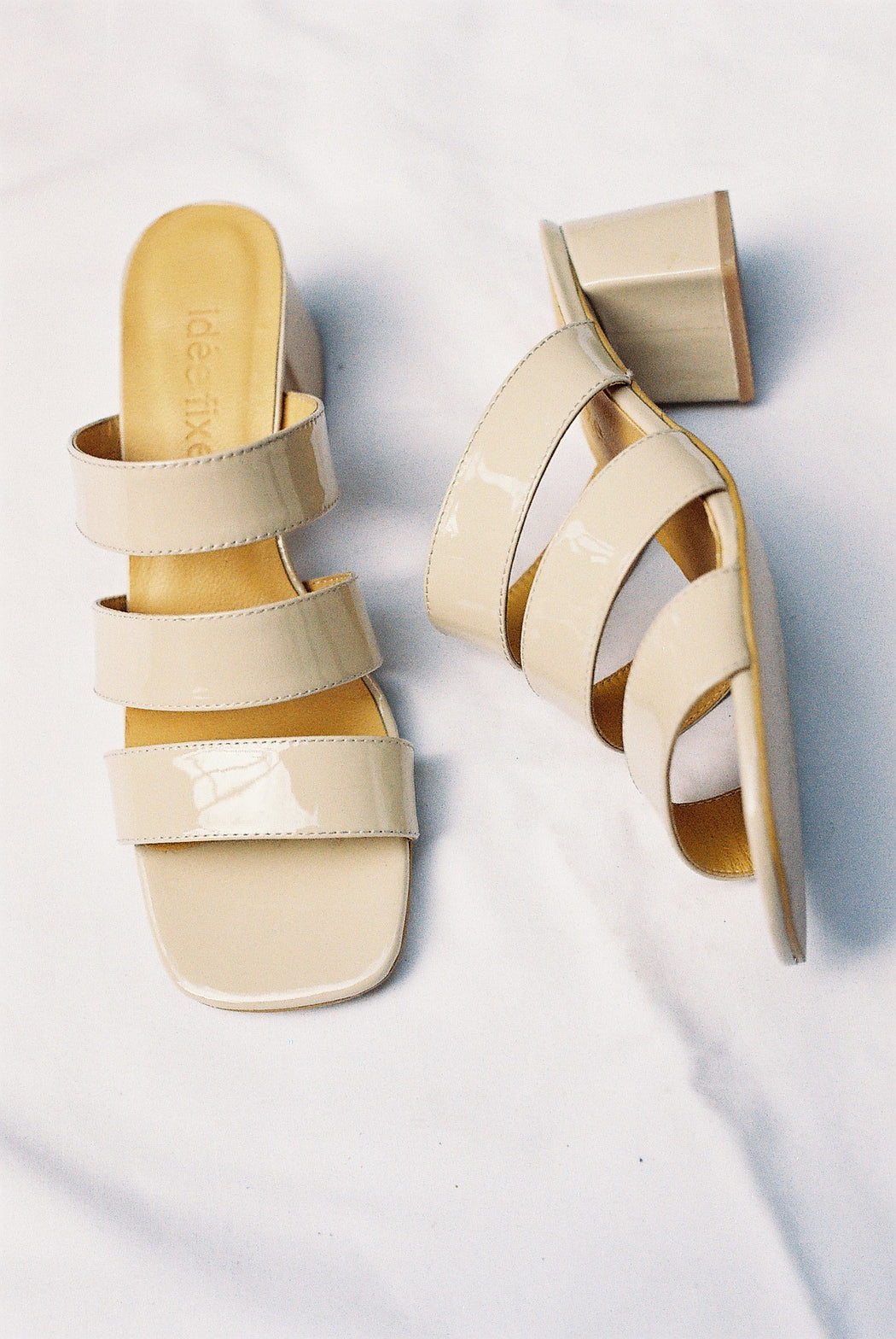 July Heels | Patent cream