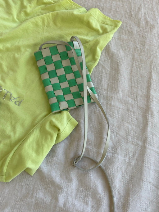 Shaker Pouch | Cream-Green