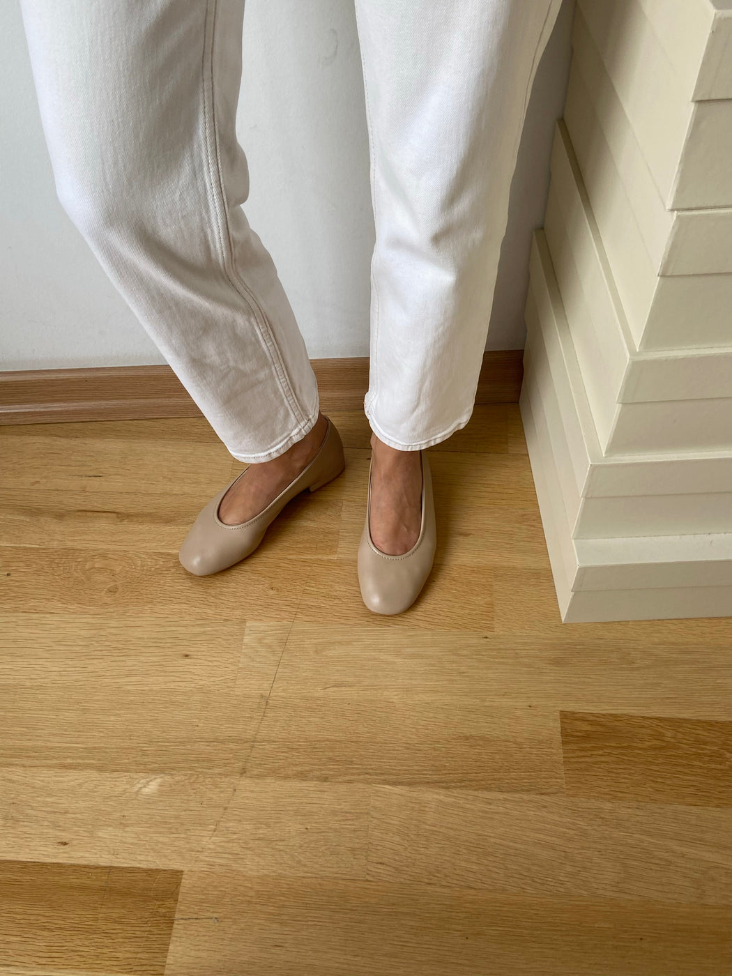 New Margot Flats | Nude