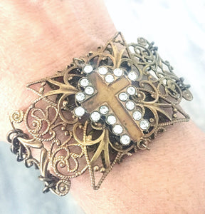 Resurrection Cross Bracelet