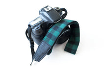 Traditional DSLR Strap - Lumberjack in Olive & Black