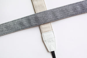 Traditional DSLR Strap - Chevron Tweed in Barley