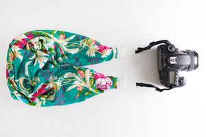 Deluxe Blend DSLR Scarf Strap - Garden of Eden- ON SALE!