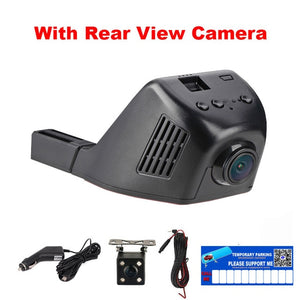 E-ACE Car Dvr WIFI DVRs Dual Camera Lens Registrator Dashcam Digital Video Recorder Camcorder Full HD 1080P 30FPS Night Version - Clucco